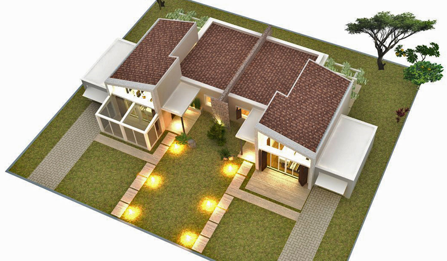 case in vendita a Grosseto bi familiari-vista alta